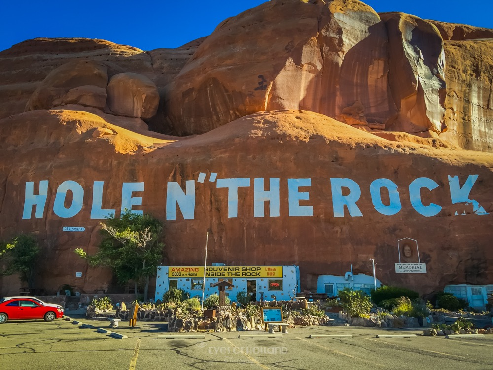 Hole n the rock