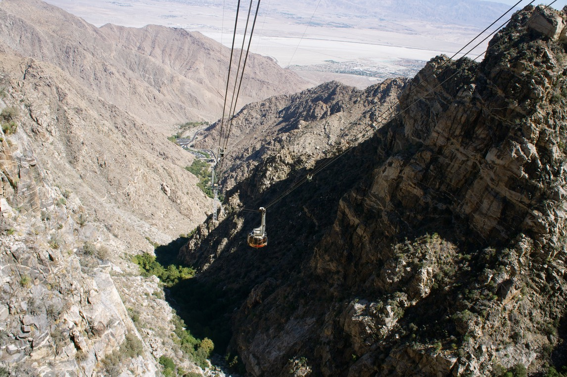Palm Springs aereal tramway