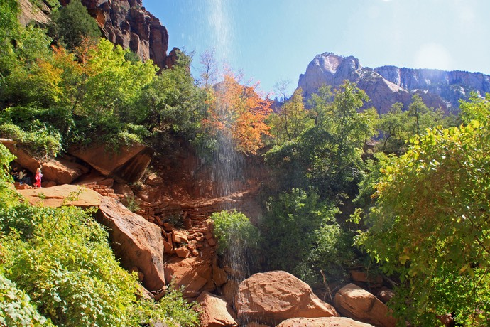 Waterval in Zion